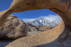 Lone Pine Peak Royalty Free Stock Images