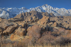 Lone Pine Peak Royalty Free Stock Photo