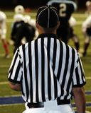 Lone referee Stock Images