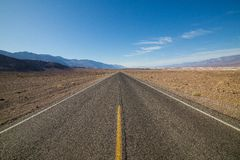 Lone Road Royalty Free Stock Photo