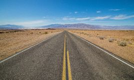 Lone Road 2 Royalty Free Stock Image