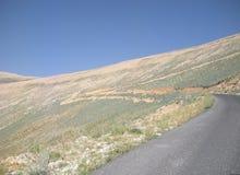 Lone Road Stock Photo
