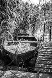lone rowboat Stock Image