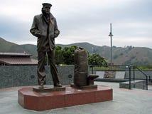 Lone Sailor Memorial, San Francisco, California Stock Photo