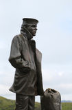 The Lone Sailor statue in San Francisco Royalty Free Stock Image