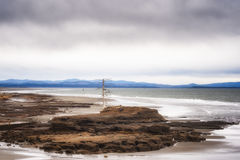 A lone Snag at North Cove Bay Stock Photos