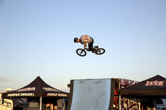 Lone Star BMX bicycle competition picture Stock Photo