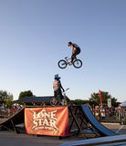 Lone Star BMX bicycle competition TX Royalty Free Stock Photo