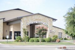 Lone Star Medical Plaza Building, Fort Worth, Texas. Lone Star Medical Plaza Building in Fort Worth, Texas provides emergency, urgent and minor medical care to stock photo