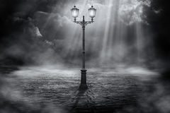 Lone streetlight Royalty Free Stock Image