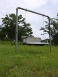 lone swing royaltyfri foto