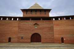 Lone Tower of Nizhny Novgorod Kremlin royalty free stock photo