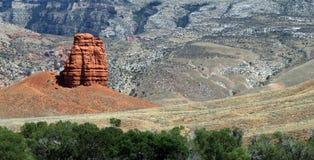 Lone Towering Rock Stock Photos