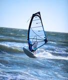 Lone windsurfer Stock Photo