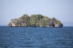 Loneley Island in Thailand sea Royalty Free Stock Photo