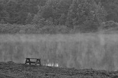 The Loneliest Bench Royalty Free Stock Photo