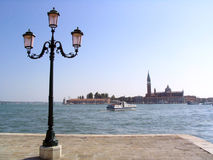 Loneliness. A picture from Venice, ITALY Royalty Free Stock Photos