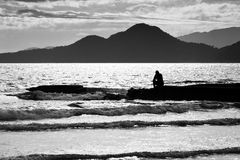 loneliness Fotografie Stock