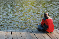 Loneliness Royalty Free Stock Photos
