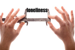 Loneliness Royalty Free Stock Photo
