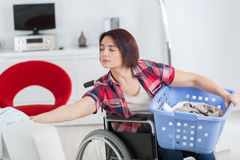 Loneliness and handicap not issues when you love life. Loneliness and handicap are not issues when you love life Royalty Free Stock Photography