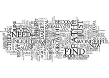 The Loneliness Of Personal Growth Text Background  Word Cloud Concept Stock Photography