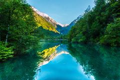 the most beautiful place in austria stock photos