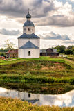 Lonely abandoned old church in Suzdal, Russia Stock Images