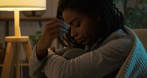 Heartbroken woman suffering with depression