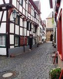 Lonely alley. Bad Muenstereifel, Germany 2014 Stock Photos