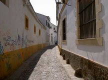 Lonely alley. Jerez, Spain 2009 Stock Image