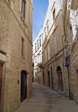 Lonely Alley of Molfetta. Apulia. Stock Photos