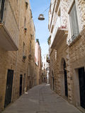 Lonely Alley of Molfetta. Apulia. Royalty Free Stock Photography