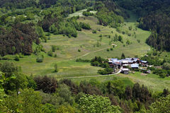 Free Lonely Alpine Village Stock Photo - 15870750