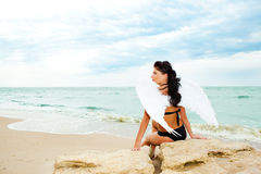 Free Lonely Angel Stock Photography - 10191502