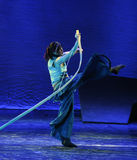 Lonely Archer-The dance drama The legend of the Condor Heroes Stock Photos
