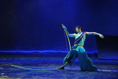 Lonely Archer-The dance drama The legend of the Condor Heroes Royalty Free Stock Photos