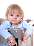 Lonely Baby Royalty Free Stock Photography