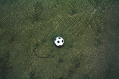 Lonely ball royalty free stock image