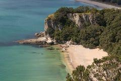 Lonely Bay in Coromandel Peninsula Stock Image