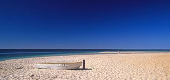 Lonely beach. In western- australia Stock Photo