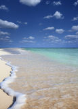 Lonely beach Stock Images