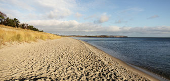Lonely beach. Lonely strand,  Baltic Sea, Germany Stock Image