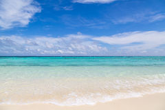 A lonely beach royalty free stock images