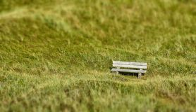 Lonely Bench Stock Images