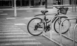 Lonely bicycle Stock Photography