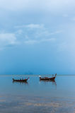 Lonely Boat. On a asia sea Royalty Free Stock Photography