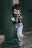 Lonely boy Stock Images