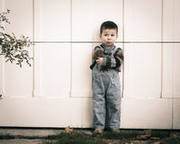 Lonely boy Royalty Free Stock Photo