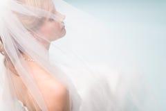 Lonely bride Stock Photos